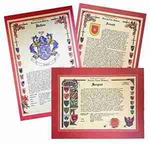 Family Name History Certificates
