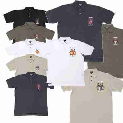 Golf Shirts with Coat of Arms