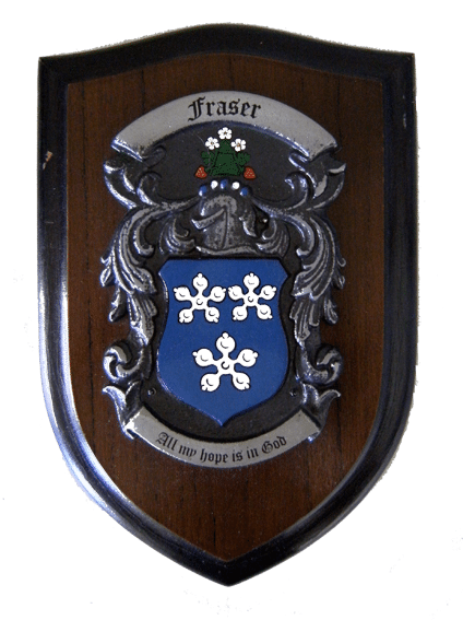 Family Crest Plaque Or Coat Of Arms Shields Coat Of Arms And